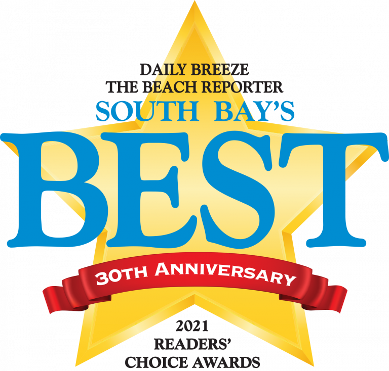 Daily Breeze and Beach Reporters South Bay's Readers Choice - voted 2021 Best Web Developer