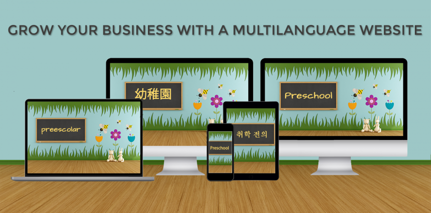 Grow your Business with Multi-language Websites