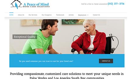 A Peace of Mind Home Care Palos Verdes