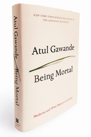 Atul Gawande Being Mortal Book Cover