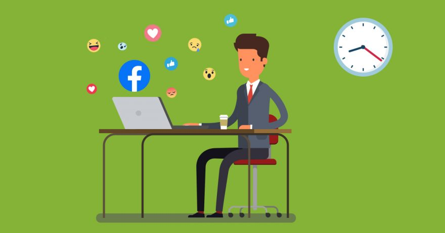 Best time to publish Facebook posts for my business