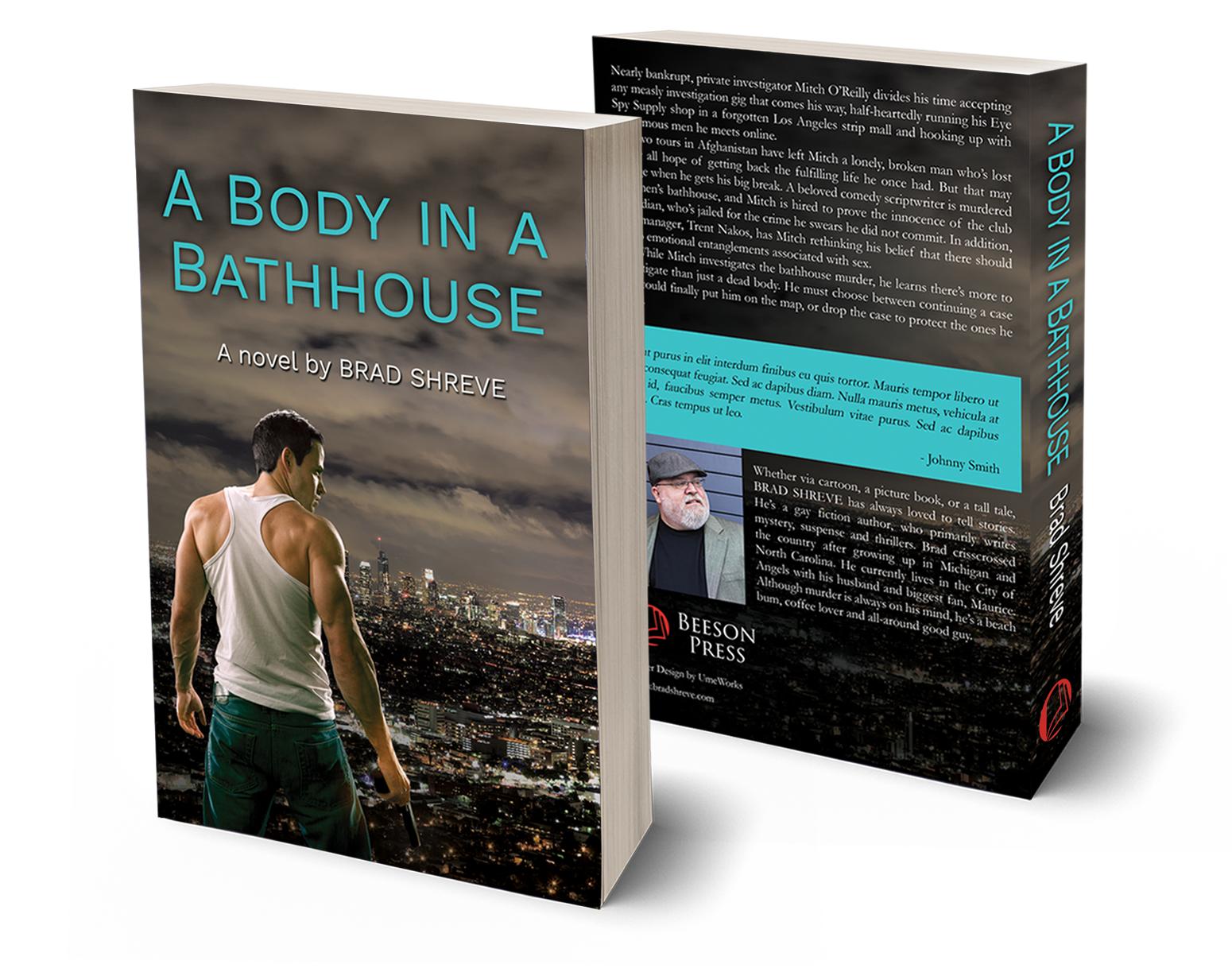 Author Brad Shreve's debut novel