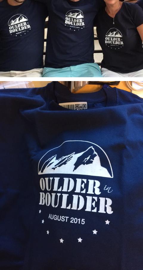 Oulder in Boulder t-shirt design