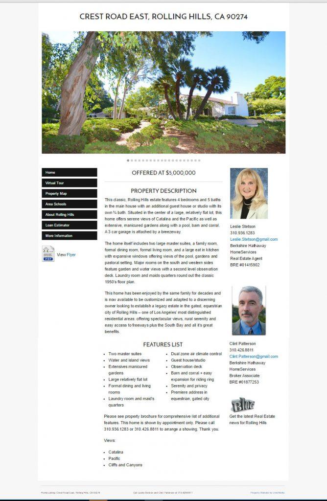 property website example
