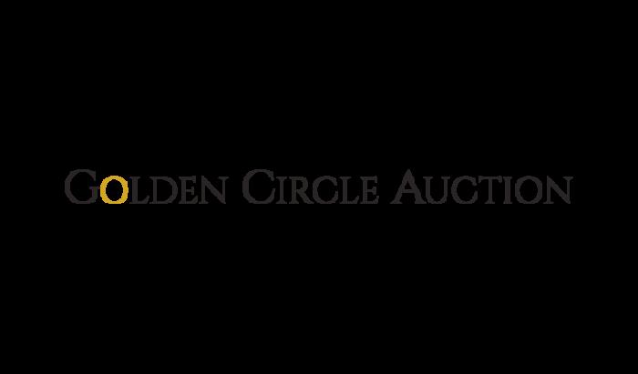 Golden Circle Auction logo design
