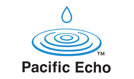 Logo created for Pacific Echo, Inc., located in Torrance, CA