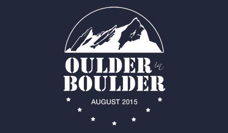 tshirt design - oulder in boulder