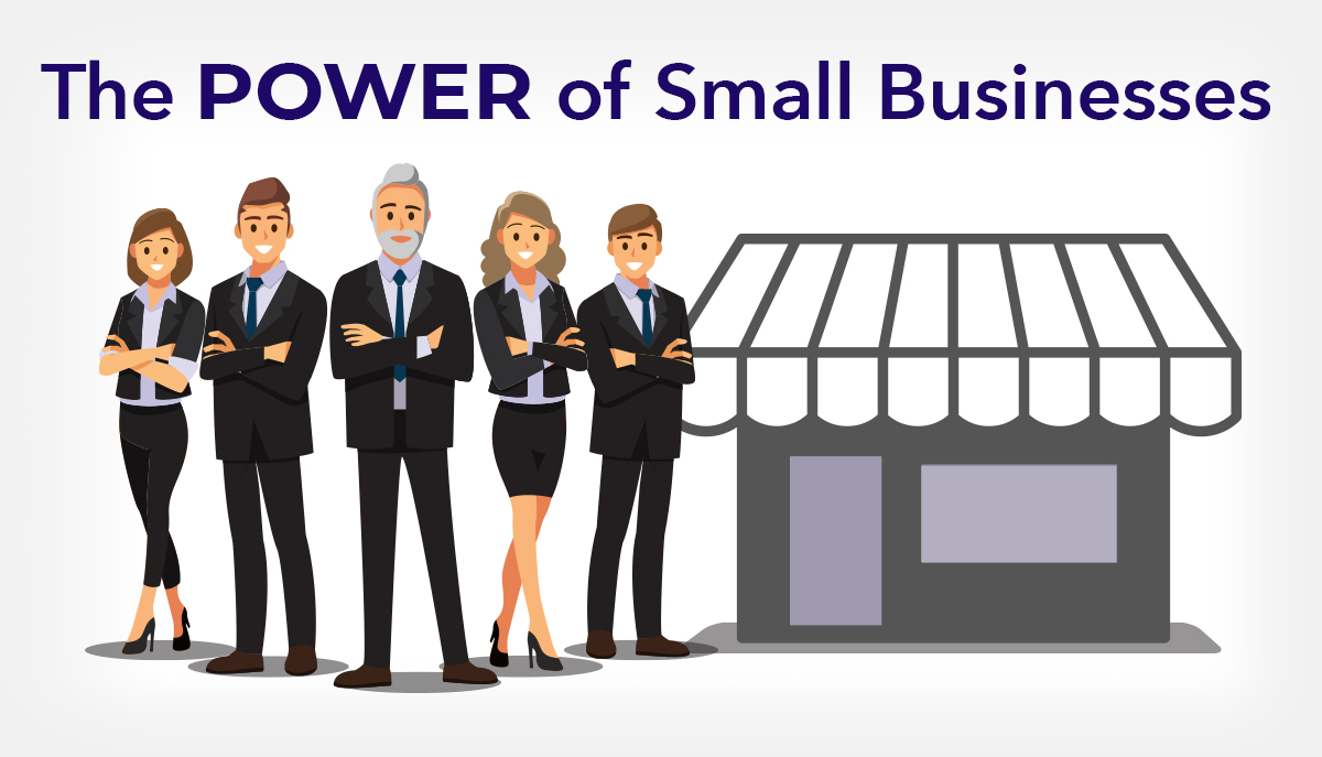 The power of small businesses