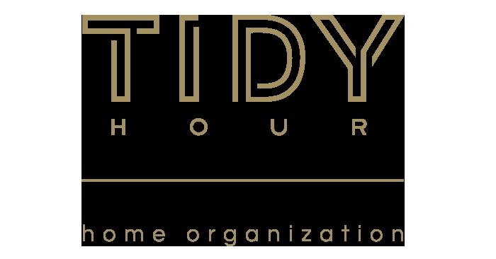 Tidy Hour home organization logo design