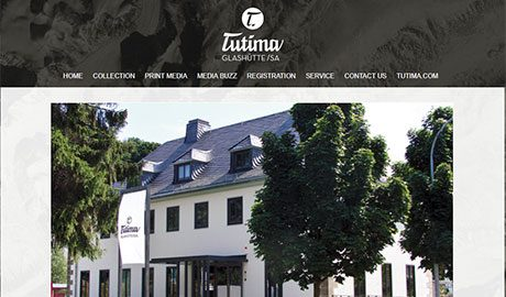 website built by UmeWorks in Torrance for Tutima USA