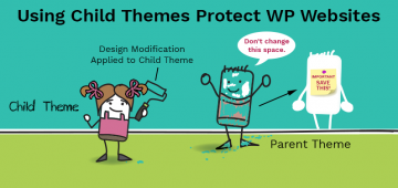Use child theme to protect your Wordpress website