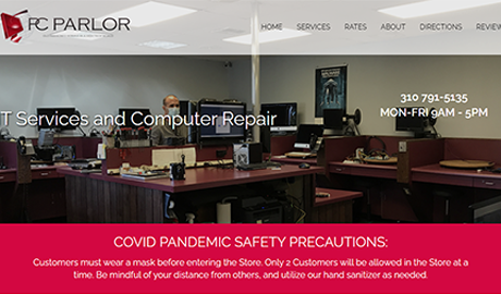 PC Parlor Website