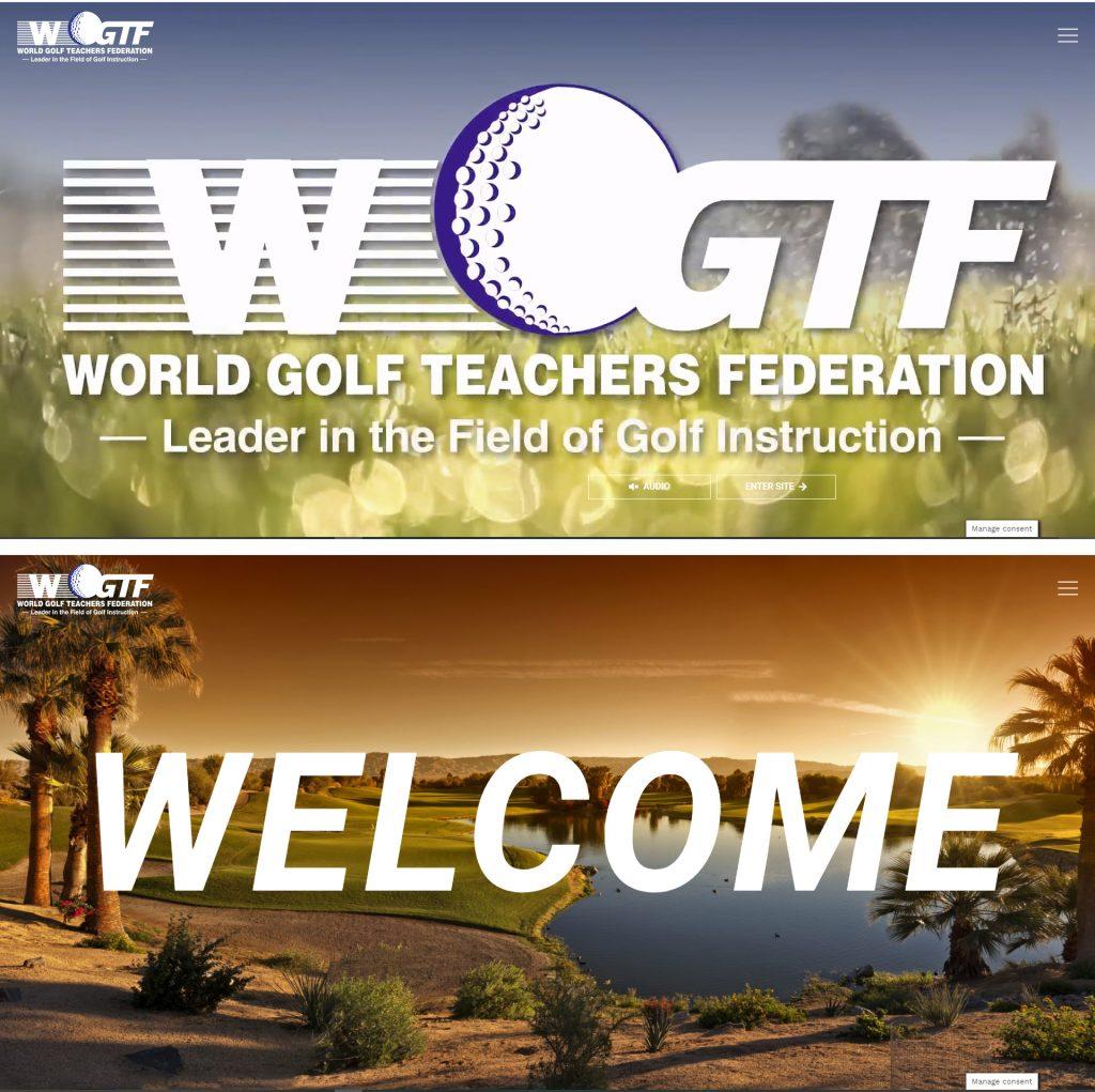 WGTF website redesign