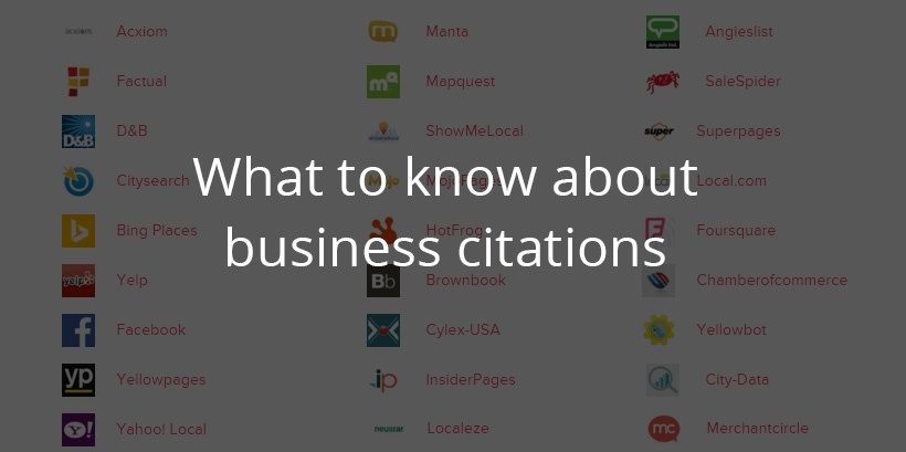 what to know about business citations